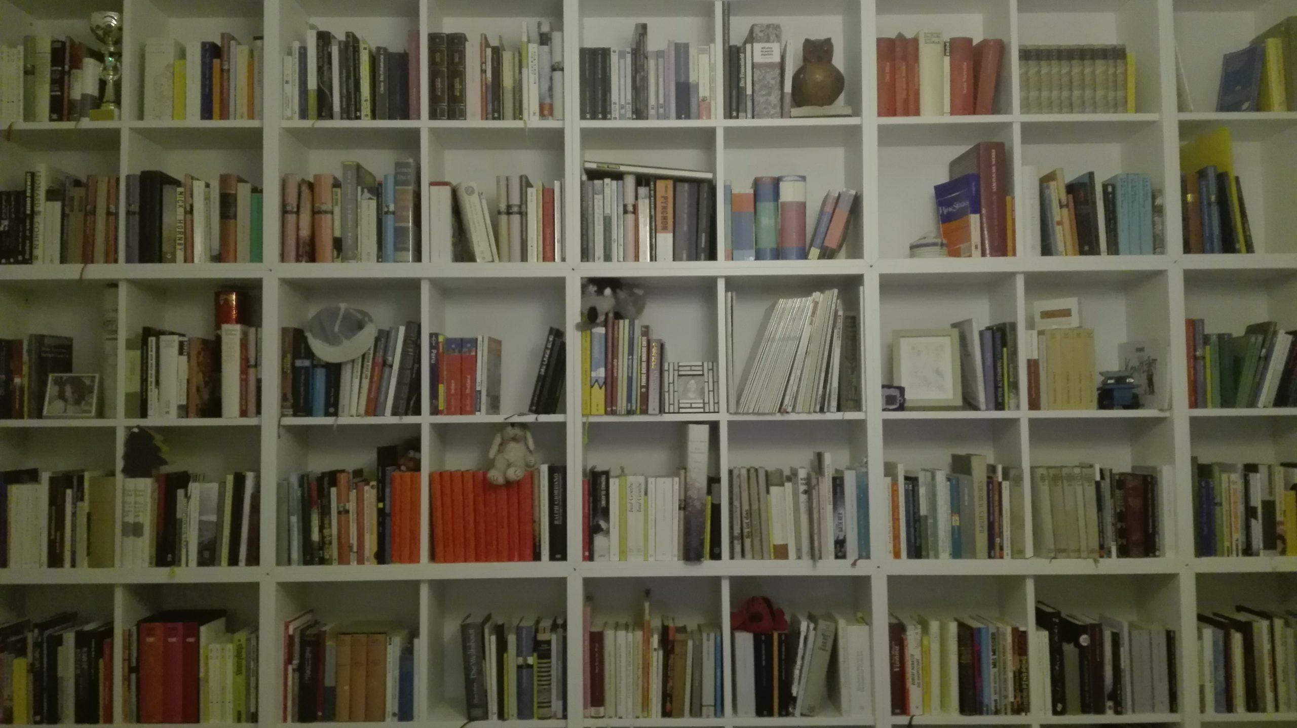 Bücherwand Büro